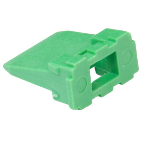 W6P - DT Series - Wedgelock for 6 Pin Receptacle - Green
