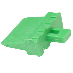 W8P - DT Series - Wedgelock for 8 Pin Receptacle - Green