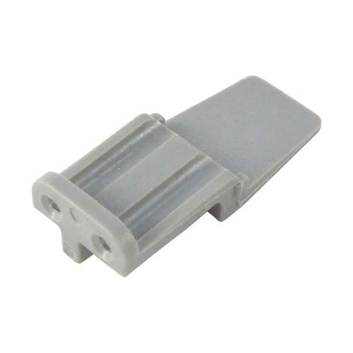 WM-2SA - DTM Series - 2 Socket Plug Wedgelock - A Key, Gray