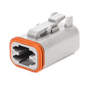 DT06-4S - DT Series - 4 Socket Plug - Gray