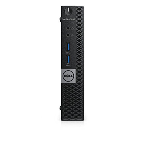 Dell Optiplex 5050 MFF Micro Form Factor Desktop - 7th Gen Intel Core i7-7700T Quad-Core Processor up to 3.80 GHz, 32GB Memory, 2TB SSD, Intel HD Graphics 630, Windows 10 Pro