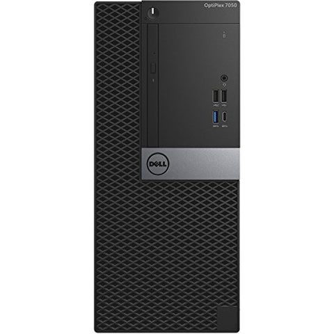 Dell Optiplex 7050 Tower Desktop - 7th Gen Intel Core i7-7700 Quad-Core Processor up to 4.2 GHz, 64GB DDR4 Memory, 512GB SSD + 8TB SATA Hard Drive, Intel HD Graphics 630, DVD Burner, Windows 10 Pro