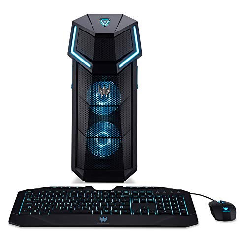Acer Predator Orion 5000 PO5-100-UR11 Gaming Desktop, AMD Ryzen 7 2700X,  GeForce GTX 1060, 16GB DDR4, 256GB PCIe NVMe SSD, 2TB HDD, Windows 10 Home