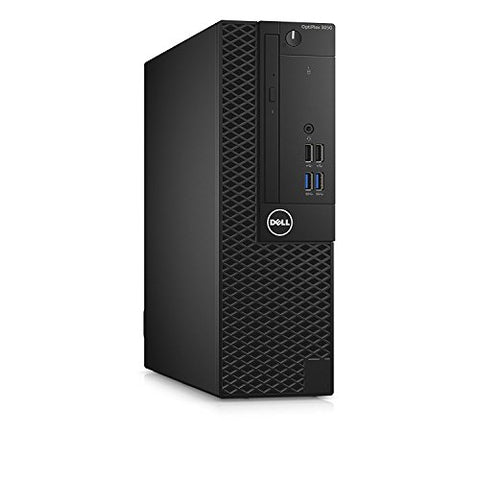 Dell Optiplex 3050 SFF Desktop - 7th Gen Intel Core i5-7500 Quad-Core Processor up to 3.8 GHz, 16GB DDR4 Memory, 256GB SSD + 2TB SATA Hard Drive, Intel HD Graphics 630, DVD Burner, Windows 10 Pro