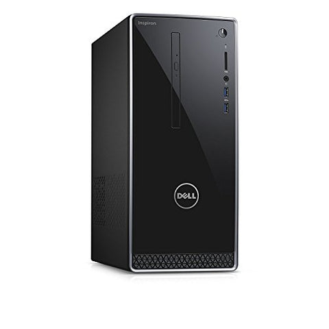 2018 Dell Inspiron 3668 Premium High Performance Desktop - Intel Dual-Core i3-7100 3.9GHz, 8GB DDR4, 128GB SSD+1TB HDD, DVDRW, Bluetooth, HDMI, 802.11bgn, 5-in-1 Media Card Reader, MaxxAudio, Win 10