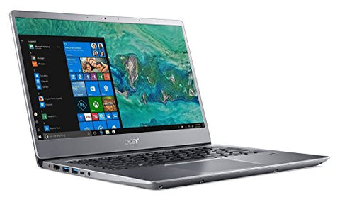 "Acer14"" Swift Full HD IPS Laptop - 8th Gen Intel Core i7-8550U, 8GB DDR4, 512GB SSD + 1TB HDD, NVIDIA GeForce MX150, Fingerprint sensor, Back-lit Keyboard, Windows 10 Silver"