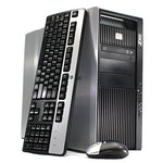 Refurbished - HP Z800 Workstation Desktop - 96GB DDR3 RAM, 2 x 480GB SSD (960GB Total), 2x Intel Xeon Quad Core E5620 2.4GHz, WIFI, Quadro 400, Windows 10 Pro 64-bit (Certified Refurbished)