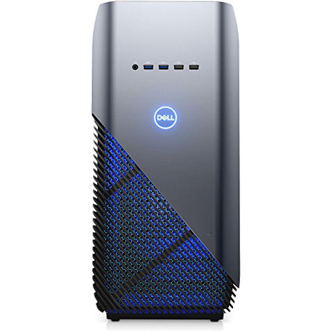 Dell Inspiron 5680 Gaming Desktop - 8th Gen. Intel Core i7-8700 6-Core up to 4.60 GHz, 16GB DDR4 Memory, 256GB SSD + 4TB SATA Hard Drive, 8GB Nvidia GeForce GTX 1070, Windows 10 Pro, Recon Blue