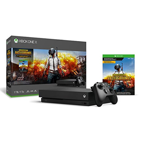 Xbox One X 1TB Console - PLAYERUNKNOWN'S BATTLEGROUNDS Bundle [Digital Code]