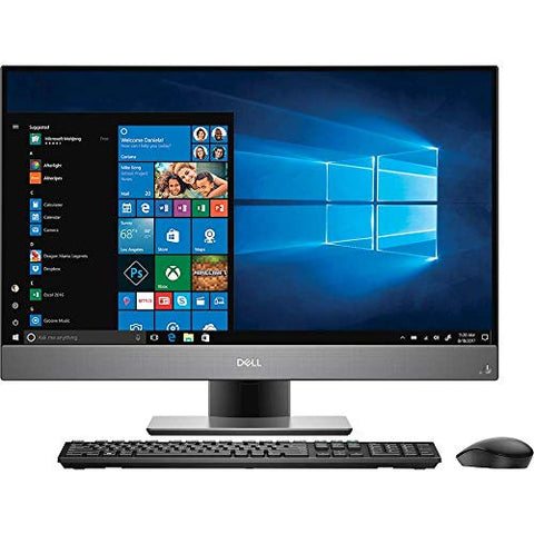 "Dell Inspiron 27 Desktop 256GB SSD + 2TB HD 32GB RAM Win 10 Pro (Intel Core i7-8700K processor 3.70GHz TURBO to 4.70GHz, 32 GB RAM, 256GB SSD 2TB HD, 27"" FullHD IPS, Win 10 Pro) PC Computer All-in-One"