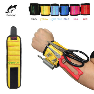 Magnetic Portable Wristband DIY Tool Belt