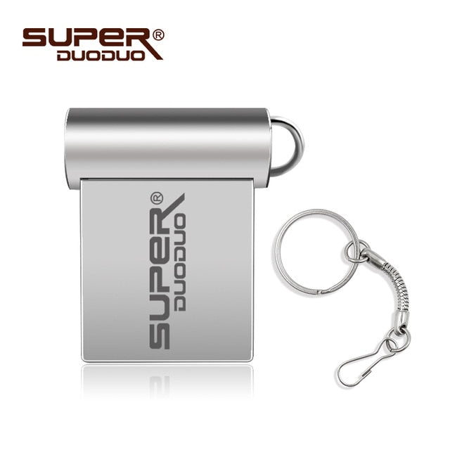 Mini Metal USB Portable Flash Drive 4GB - 64GB