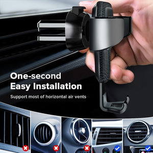 Gravity Car Holder For Phone in Car Air Vent Clip