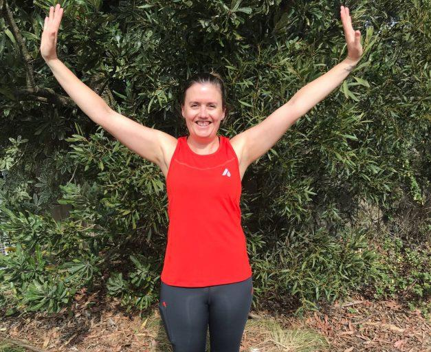 NINA TACKLES UTA100 IN AUSSIE GRIT APPAREL