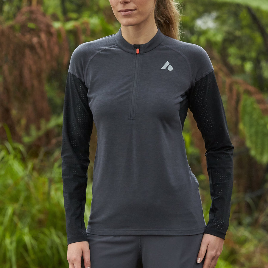 flint Women's Running 'Airflow' Sleeve Top
