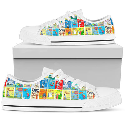 Dr Seuss Collection Low Top Shoe