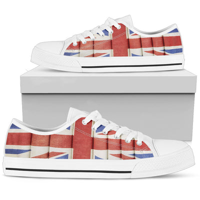 England Flag Low Top Shoe