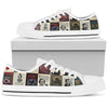 Edgar Allan Poe Low Top Shoe