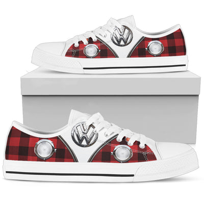 Red VW Low Top Shoe