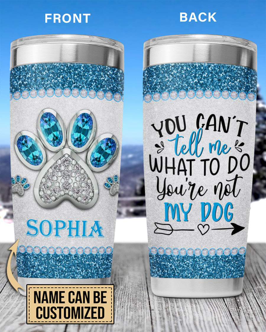 Personalized Dog Lovers Tumbler