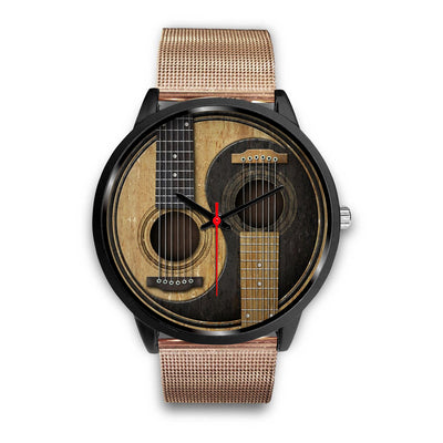Guitar Yin Yang Watch