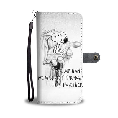 Take My Hand Wallet Case