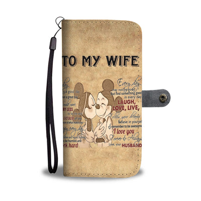 To My Wife Wallet Case