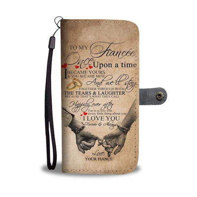 To My Fiance Wallet Case