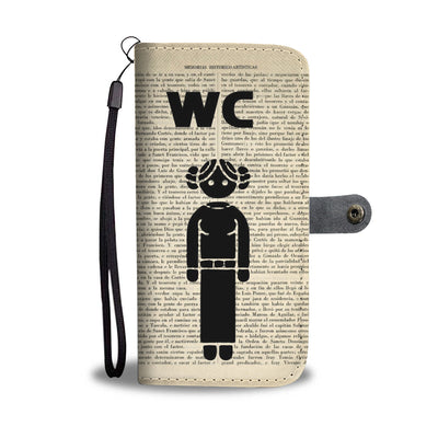 WC Sign Wallet Case