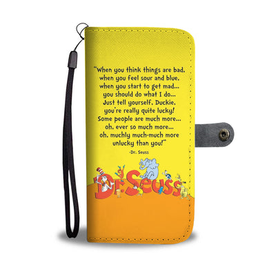 Dr. Seuss Wallet Case
