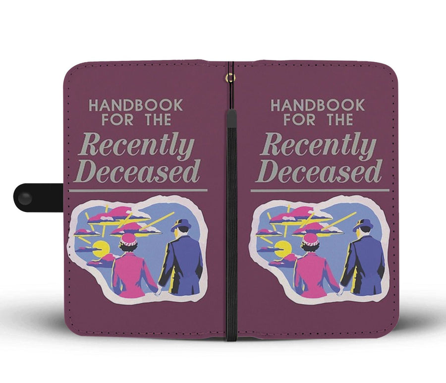 Handbook For The Recently Deceased Wallet Case