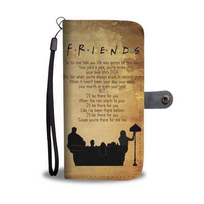 Friends Wallet Case