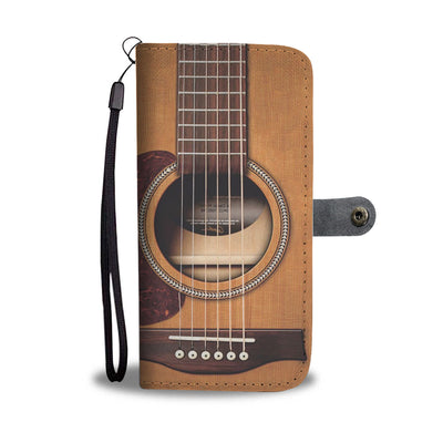 Guitar Wallet Case