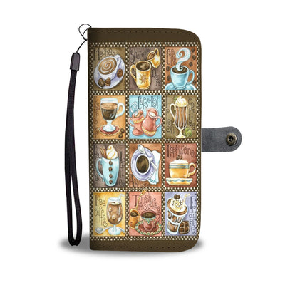 Coffee Wallet Case
