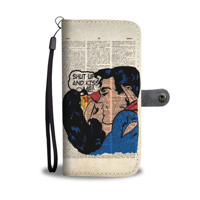 Superhero Wallet Case