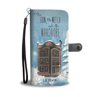 Lion, Witch & Wardrobe Wallet Case