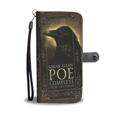 Edgar Allan Poe Wallet Case
