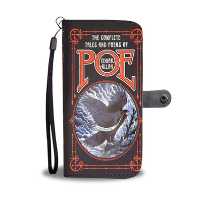 The Complete Tales And Poems Of Edgar Allan Poe Wallet Case