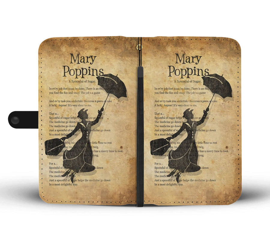 Mary Poppins Wallet Case