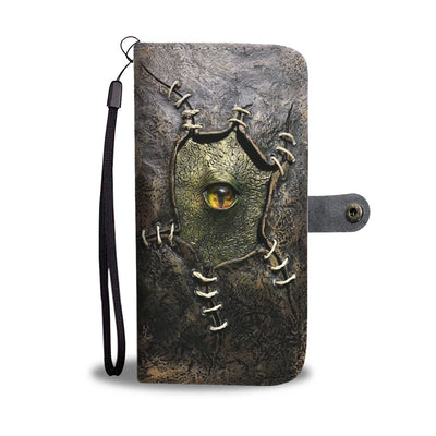 Creepy Eye Wallet Case