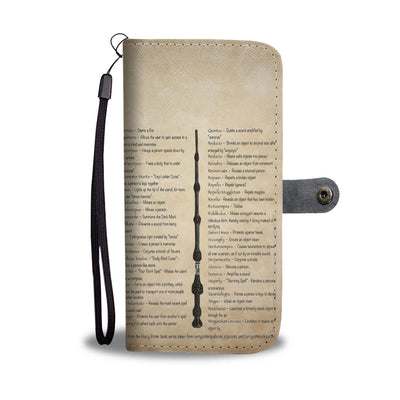 HP Spells Wallet Case