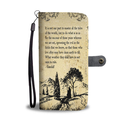 Lord Of The Rings Wallet Case