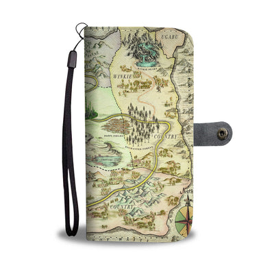 Map Wallet Case