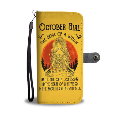 October Girl Wallet Case