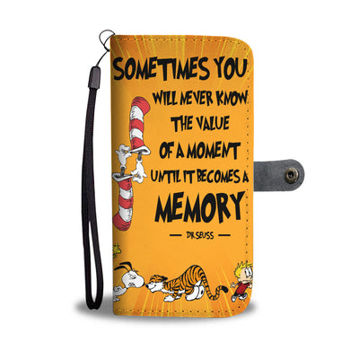 Snoopy Dr.Seuss Wallet Case