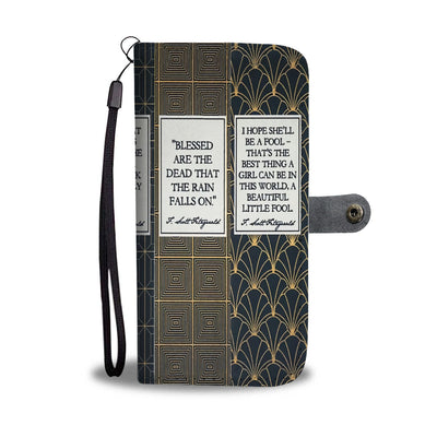 The Great Gatsby Wallet Case
