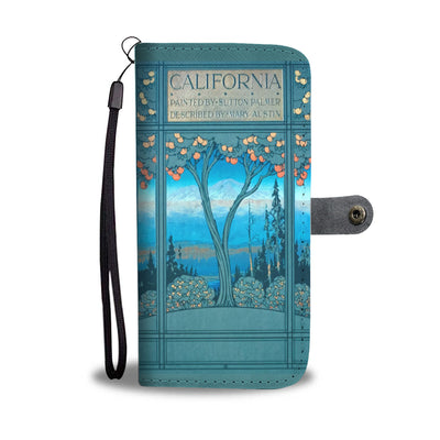 Painted Califonia Wallet Case