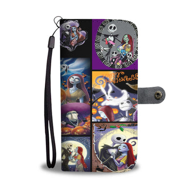Nightmare Before Christmas Wallet Case