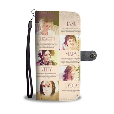 Pride And Prejudice Wallet Case