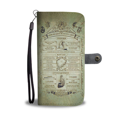 Hogwarts Wallet Case